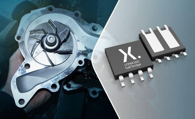 Nexperia扩展LFPAK56D MOSFET产品系列,推出符合AEC-Q101标准的半桥封装产品